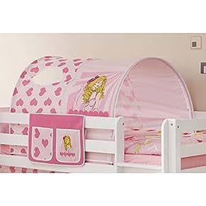 tunnel bett tasche 100 baumwolle stofftasche baldachin dach bettdach himmel f r hochbett. Black Bedroom Furniture Sets. Home Design Ideas
