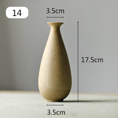 Maivas Vase Creative Modern Personality Handmade Ceramic Japanese Living Room Home Decoration Decoration, Lfd07
