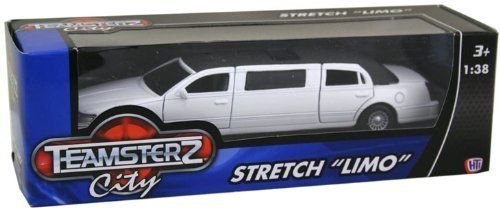 teamsterz-stretch-limo-limousine-car-toy-with-light-and-sound-white
