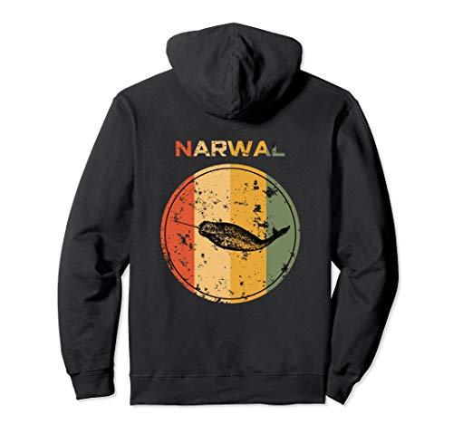 Narwal Kostüm - Narwal Kostüm Wal Fisch Kostüm Meer Ozean Kinder Zahnwal  Pullover Hoodie