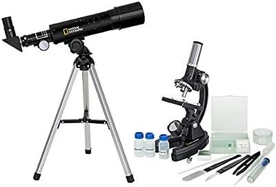 National Geographic - Kit Telescopio 50/360 + microscopio 300x - 1200x