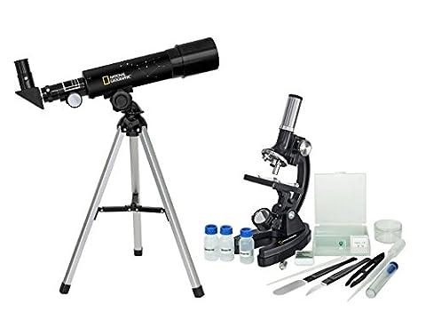 National Geographic Teleskop/Mikroskop Set (National Geographic Für Kinder)
