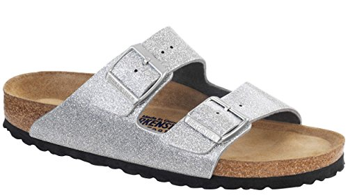 Birkenstock Arizona 252271 Sandali, Unisex Adulto Magic Galaxy Silver