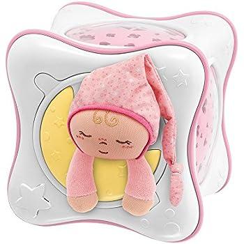 Chicco Veilleuse Cube Arc en Ciel First Dreams Rose