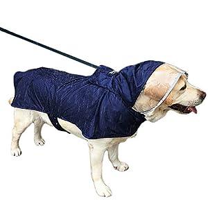 Beschreibung     Der Hunderegenmantel ist für alle Jahreszeiten abundant! Brilliant! Sie werden seine Vielseitigkeit lieben und Ihr Hund wird den Schutz lieben.     Ein Regenmantel, der den Anblick eines Haustieres nicht blockiert, wenn es regnet.  ...
