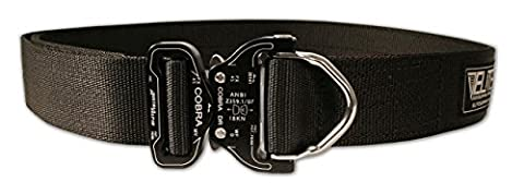 Elite Survival Systemen Cobra Rigger Belt mit D Ring Schnalle XL schwarz