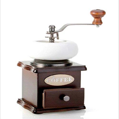 Kaffee Ausstattung Retro Hand Massivholz Kaffee Schleifmaschine Home Grinder Log Base (Base Log)