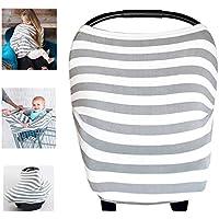 Multi Bio Baumwolle Lycra Still Baby Auto Set Cover Himmel Warenkorb Bezug Swaddle Decke für Säuglinge Neugeborene Kleinkinder Dusche Geschenk
