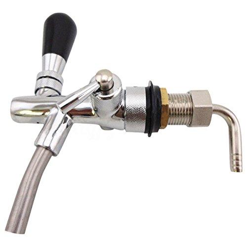 Sodial rubinetto regolabile della birra alla spina con il regolatore di flusso per l'erogatore di homebrew del rubinetto di keg