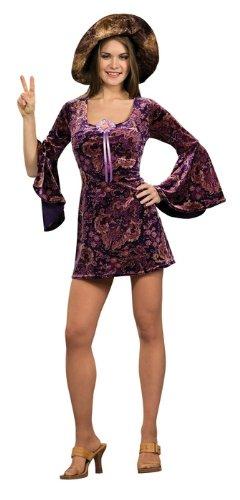 Kostüm-Set 60er-Jahre-Girl