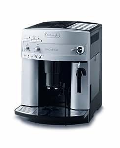 DeLonghi ESAM 3200 S Magnifica Kaffee-Vollautomat (1100 Watt, 1,8 Liter, 15 bar, Dampfdüse) silber