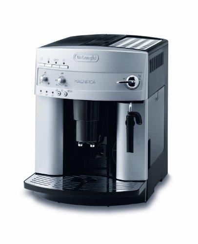 De Longhi à café Magnifica ESAM Argent Acier inoxydable/plastique Mousseur à lait/automatique. Programme de nettoyage/Bec Verseur Magnifica ESAM réglable