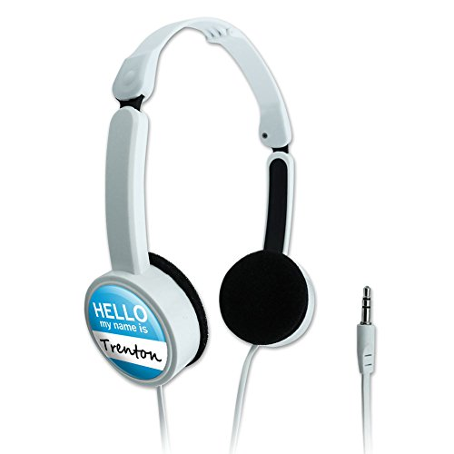 novelty-travel-portable-on-ear-foldable-headphones-hello-my-name-is-to-ty-trenton-hello-my-name-is