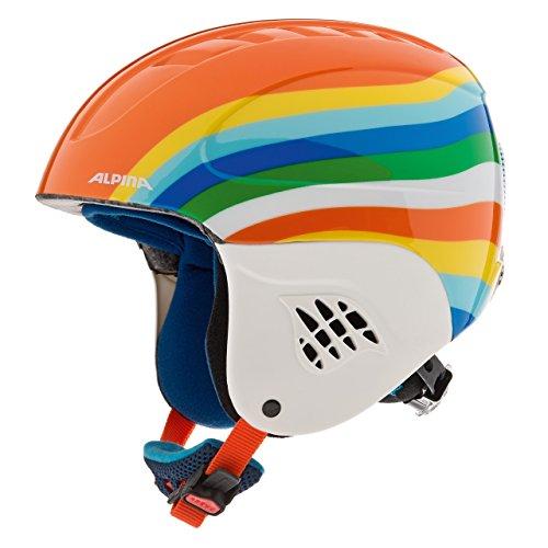 Alpina Kinder Skihelm Carat, Rainbow, 48-52 cm, 9035160
