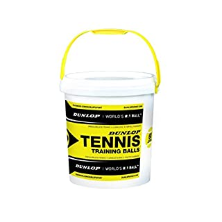 Dunlop Tennisball Training - drucklos Gelb, One size