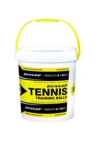 Dunlop Tennisball Training-drucklos, Gelb, One - Tennisbälle Drucklose