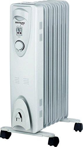 Bastilipo RAC7-1500 Radiador de Fluido, 1500 W, Blanco