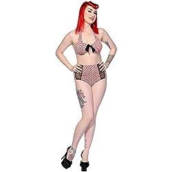 Banned - Bikini - para Mujer Rosa Rosa Large