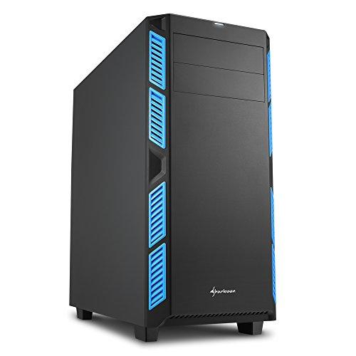 Sharkoon AI7000 Silent PC-Gehäuse blau
