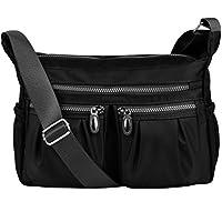 Vbiger Multi Pocket Casual Handbag Travel Bag Messenger Cross Body Bag