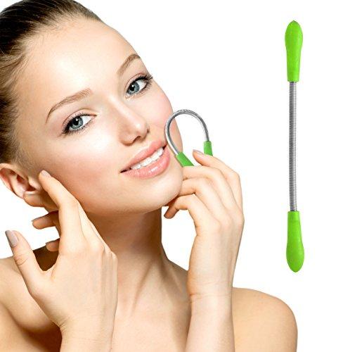 Oramics Silk Haarentferner für eine präzise Gesichtshaarentfernung z.B. bei Oberlippe, Kinn und Wangen (Grün)