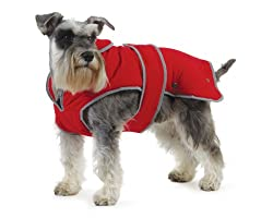 Ancol Muddy Paws Stormguard Dog Coat Red size Medium