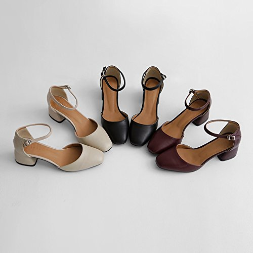 FLYRCX Personalità del mondo della moda, lady tacco, sexy temperamento, scarpe con i tacchi alti, dimensione europea: 32-40 A
