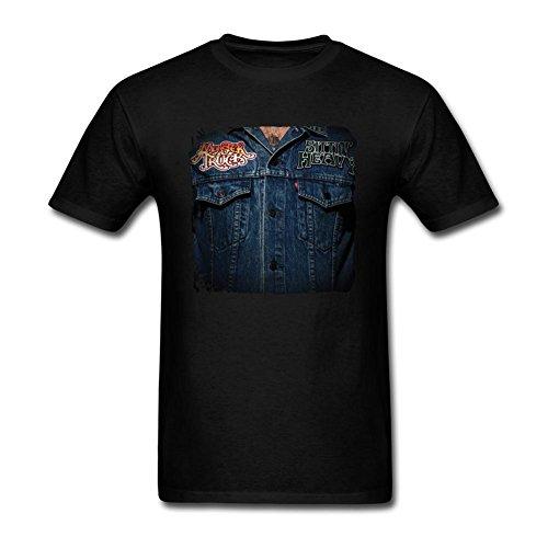 UKCBD -  T-shirt - Uomo nero X-Large - Ghost House Flag