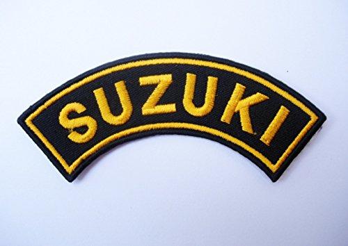 Patches–Suzuki–Kurve–Curve–Motorbike–Motorsport–Motorcycles–Biker–Iron Man Patch–Wandleuchte Embroidery Wappen bestickt kostüm cadeau- Give Away