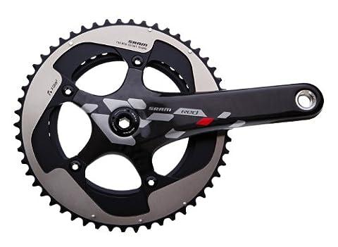 SRAM Red 10 Speed Crankset - BB30, 175 mm, 50t-34t, Black