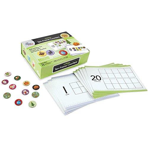 ten-frames Marken Kit (288Marken und 10ten-frame Karten) (Sie Alle Feiertage In Ordnung)