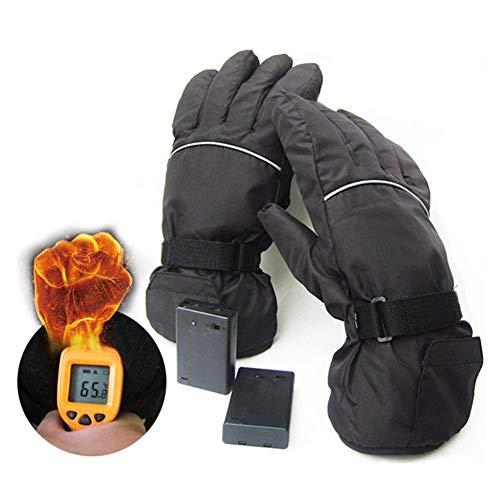 Guantes calefactables eléctricos Prueba dviento 4.5V