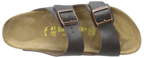 Birkenstock Arizona , Unisex - Kinder Clogs & Pantoletten aus Birko-Flor Braun