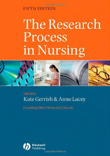 The Research Process in Nursing: Fifth Edition