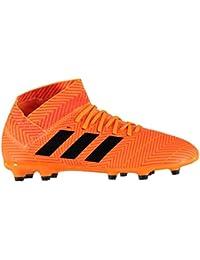 brand new 30f11 1c332 Adidas Nemeziz 18.3 Fg, Scarpe da Calcio Unisex-Bambini, Arancione  ZestCblack
