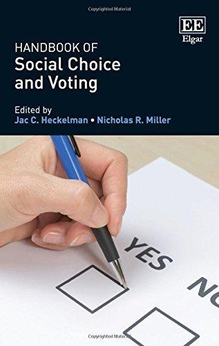 Handbook of Social Choice and Voting by Jac C. Heckelman (2016-02-17)