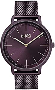 Hugo Boss Women's Aubergine Dial Ionic Plated Aubergine Steel Watch - 154