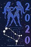 Kalender 2020 - Sternzeichen Zwilling: Schöner Kalender mit Sternzeichen   Wochenplaner mit 70 Seiten   15,24 cm X 22,86 cm ( 6 X 9 Inches )