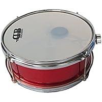 """DB Percussion DB0101 - Caja infantil 10"""" x 4"""" 4 divabed-bord-torn, color rojo"""