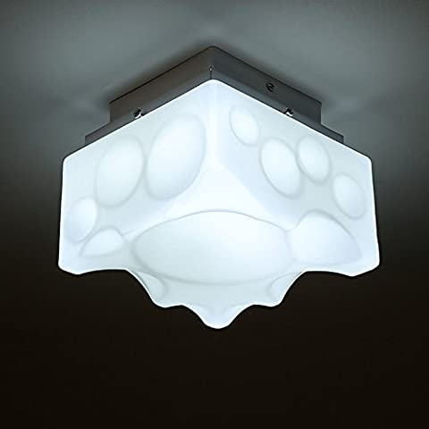 Spugna di illuminazione a soffitto di vetro leggero design creativo