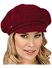 67712fe7af9a12 Elegant Ladies Wool Beret Hat ANUK - Stylish Women's Winter Hat Woolmark  Quality