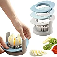Strawberry Slicer/Cutter With Stainless Steel Cutting Wires for Hard Boiled Egg Slicer