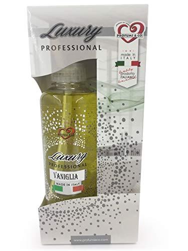 Profumi & Co-Profumo Ambiente Spray Luxury Professional-L'unico ispirato ai profumi personali più famosi-Profumo Auto, Casa, Lavoro-Elimina Cattivi Odori-300 millilitri Made in Italy-V