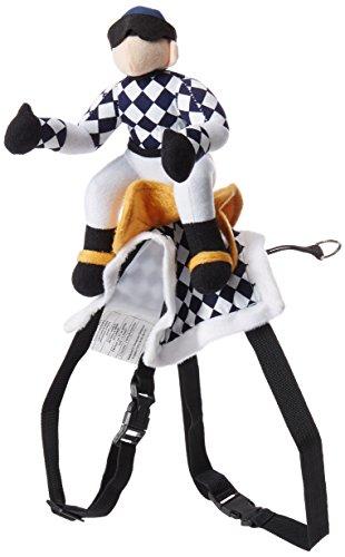Jockey Kostüm - Pet Edg Sattel Show Hunde Jockey Kostüm, groß