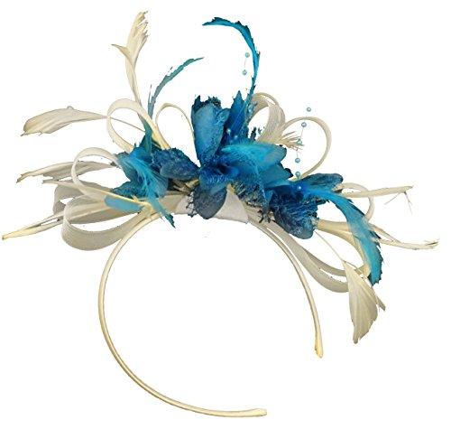 cream-und-aqua-net-hoop-feder-haar-fascinator-haarband-hochzeit-royal-ascot-races