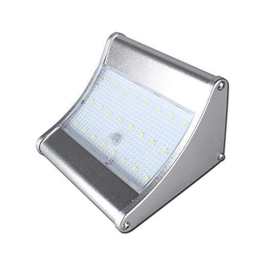 Solarleuchten Außen, Led Superhelles Solarlampen Mit Bewegungssensor Solarlicht Wasserdichte Solarbetriebene Sicherheitswandleuchte Mit 3 Modi Die Beleuchtung Für Garten Garage, Pfad, Innenhof Balkon