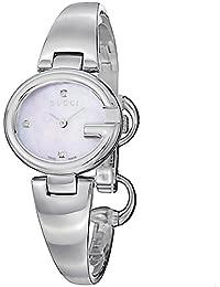 Orologio Solo tempo Donna Gucci GUCCISSIMA BANGLE YA134504 cinturino in  Acciaio 2267d070115b
