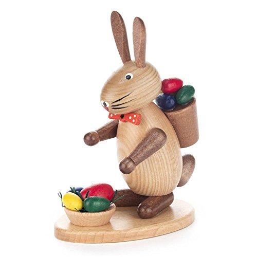 Hase mit Eierkorb - Dregeno Erzgebirgische Holzkunst - Artikel 224/711