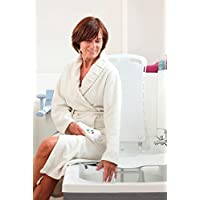 adhome ad101715cabestrillo para bañera Bellavita con revestimiento Comfort blanco