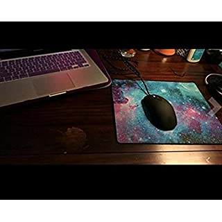 Aehrebrn Mouse Pad Game Mouse Pad Edition Cloth Gaming Mouse Mat Functional Non-Slip Rubber Base (Blue) (pinksky) (Bluestar)